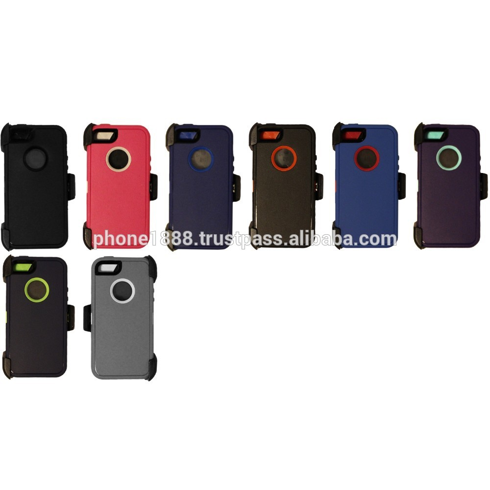 heavy duty hybrid case Belt Clip and screen protector