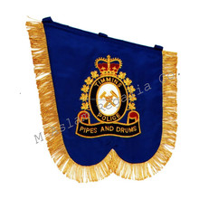 Highland Hand Embroidered band pipe Banners,Highland uniforms & accessories