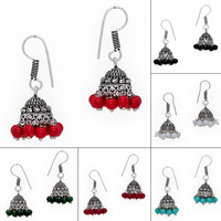 Wholesale Jaipur Jewellery Jhumka With Colorful Beads 6 Pair Combo Set