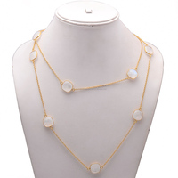 Rainbow Moonstone Gemstone Necklace By Paramount Jewellers
