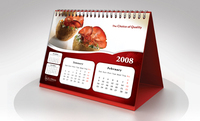 Wall/ Table calendar printing service at cheap price in India