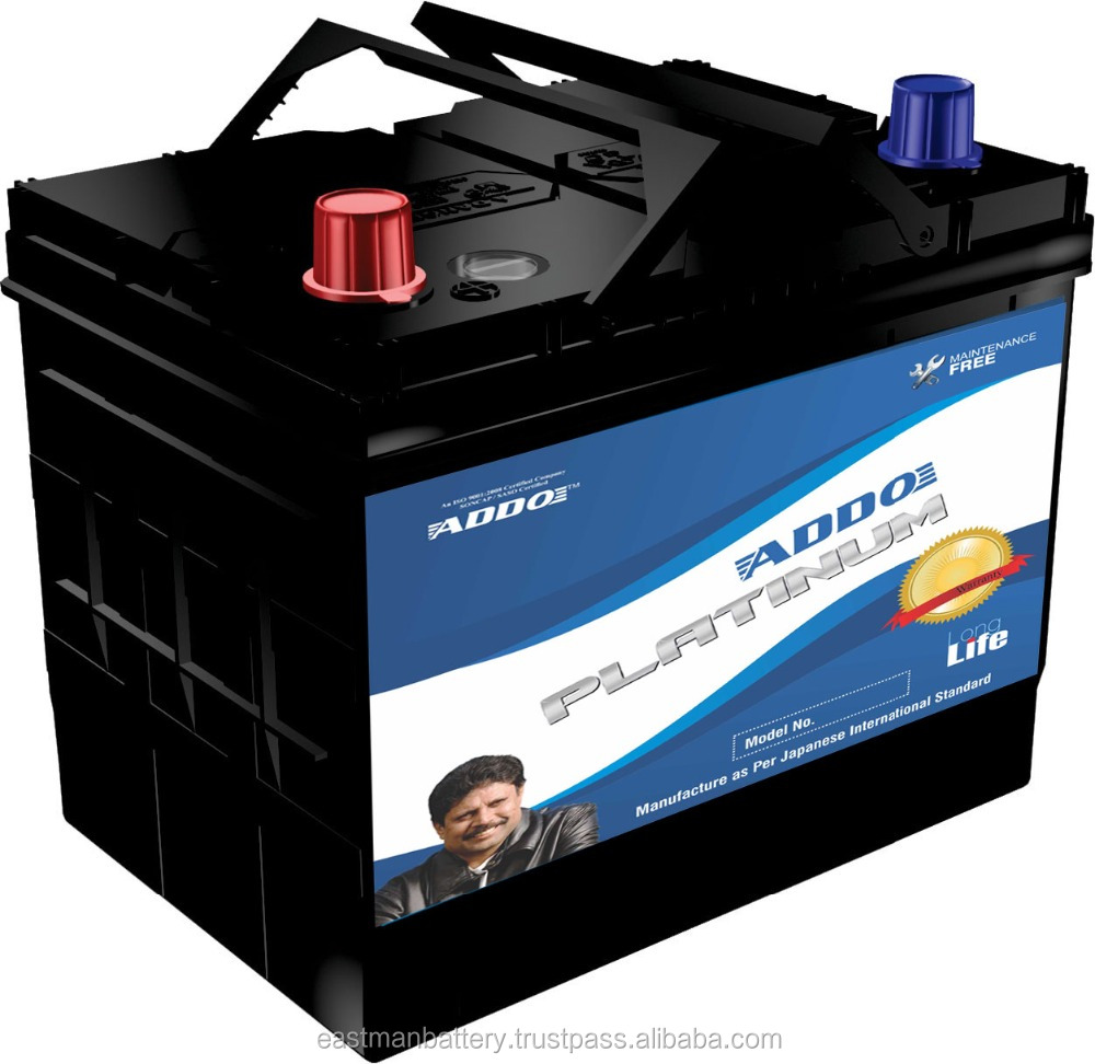 N50L ADDO Platinum automotive car battery.