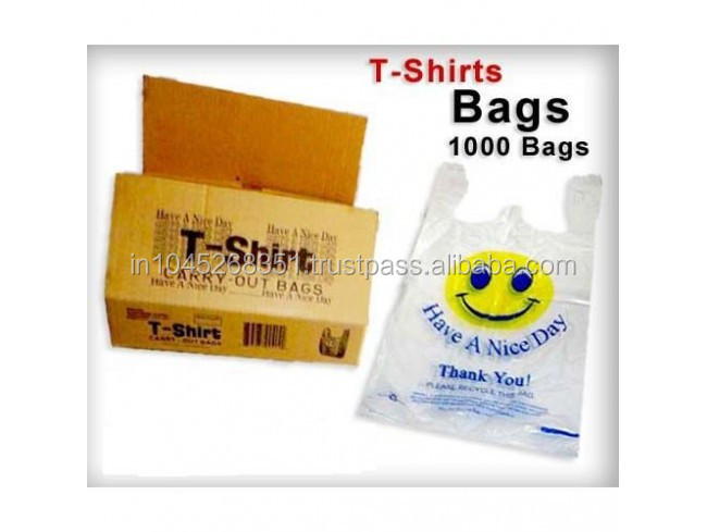Solpack 2015 Hot Sales Thankyou T - shirt Packaging Bags