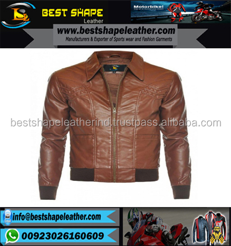 Mens Quilted Black Sheep Waxed Designer bike Fashion Real Leather Jacket