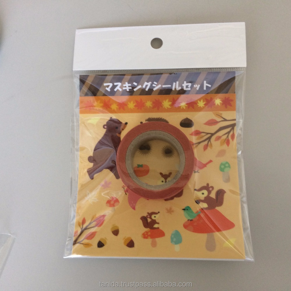 Popular and Best-selling japanese washi tape Tanida with Colorful made in Japan