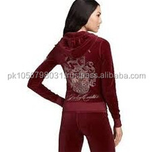 women tracksuits/red and black tracksuit/tracksuit material