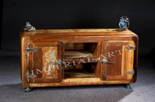 Indian Furniture Recycle Wood TV Cabinet
