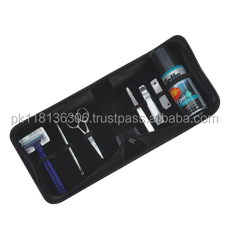 travel kits for men in aluminium case / grooming kits / men travel set
