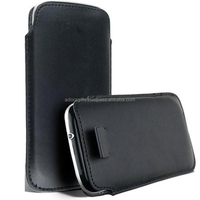 High Quality PU Leather Mobile Case / Imitation Leather Mobile Cover / Supplier Of Faux Indian Leather Mobile Cover
