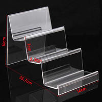Mobile Phone Display Organic Glass ear 16x23.7x14cm,7x5.3cm 5PCs/Lot Sold By Lot