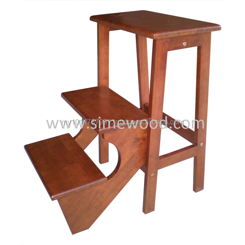 Wooden Foldable Step Stool/ Chair,Ladder Utility Stool   Buy Wooden Step  Stool Chair,Folding Step Stool Chair,Library Step Chair Product On  Alibaba.com
