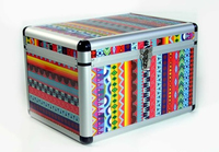 Colorful Aluminum Decorative Cases