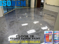 METALLIC DECORATIVE FLOOR PAINT, EPOXY RESIN BASED, HIGH PERFORMANCE