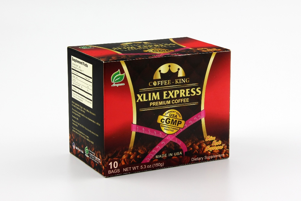 Xlim Express Coffee healthy slim natural weight loss fat burning instant coffee