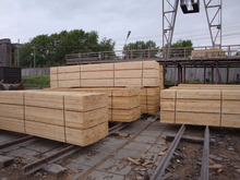 Pine fir spruce lumber / russian sawn timber / solid wood boards