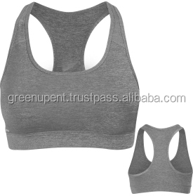 2017 Professional lady shockproof yoga vest seamless running sports f