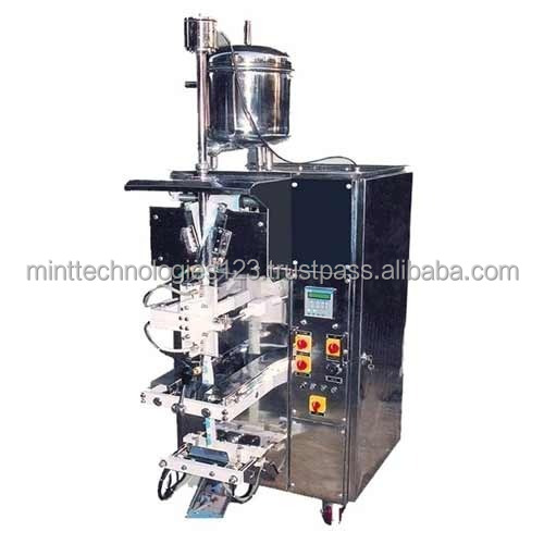 Mint Cooking Oil Pouch Packing Machine/Coconut Oil Machine/Liquid Pouch Packing Plant