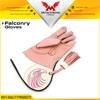 Double Layer Soft Cowhide Leather Falconry Gloves/Bird Handling/Single/Double/Tripple Skinned