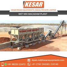 Macadam Wet Mix Plant for Road Building Available at Export Price