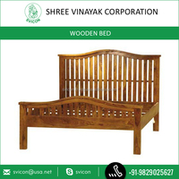 King Size Wooden Model Double Bed for Bedroom Available at Amazing Price