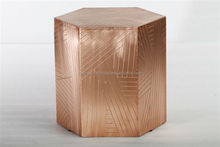 Mother of pearl Bone Inlay Round Side Table