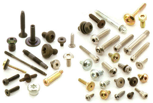 Bolts, Nuts, Studs, Flat washers, Screws, Rivets, Nails