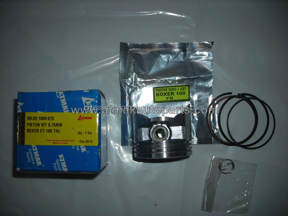 PISTON KIT 0.75mm FOR BOXER CT 100 THL IN MEXICO