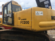 New arrival Japan Komatsu PC200 used excavator for sale, used komatsu excavator PC200 PC200-8,good working con: 0086 15026518796