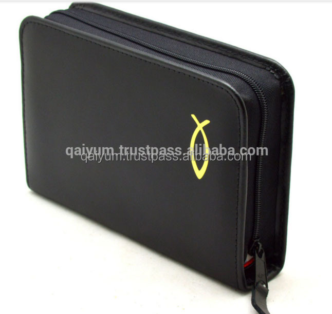 New Arrival Genuine Leather Holy Bible Cover