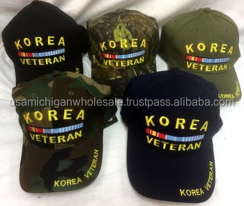 Military Korea Veteran Hat/ cap assorted color