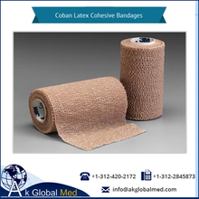 Best Material Made Coban Latex Cohesive Bandages Wholesale for Laboratory Use
