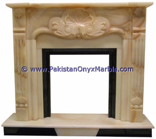 TOP QUALITY BEAUTIFUL MULTI GREEN ONYX FIREPLACES