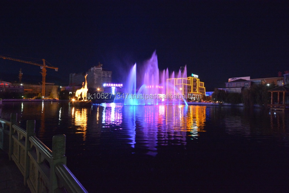 DMX512 control underwater fountain stainless steel LED