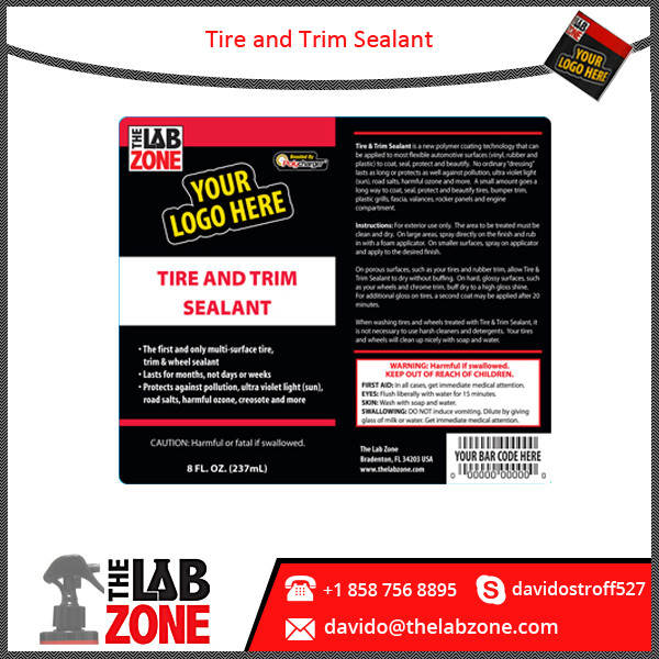 Premium Quality Private Label Tyre Sealant Available in Customized Fragrance and Sizes