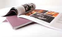 Fancy catalogue book printing service