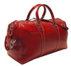 Fashionable genuine leather braided leather travel bag / Custom Sports Genuine Leather Travel Bag