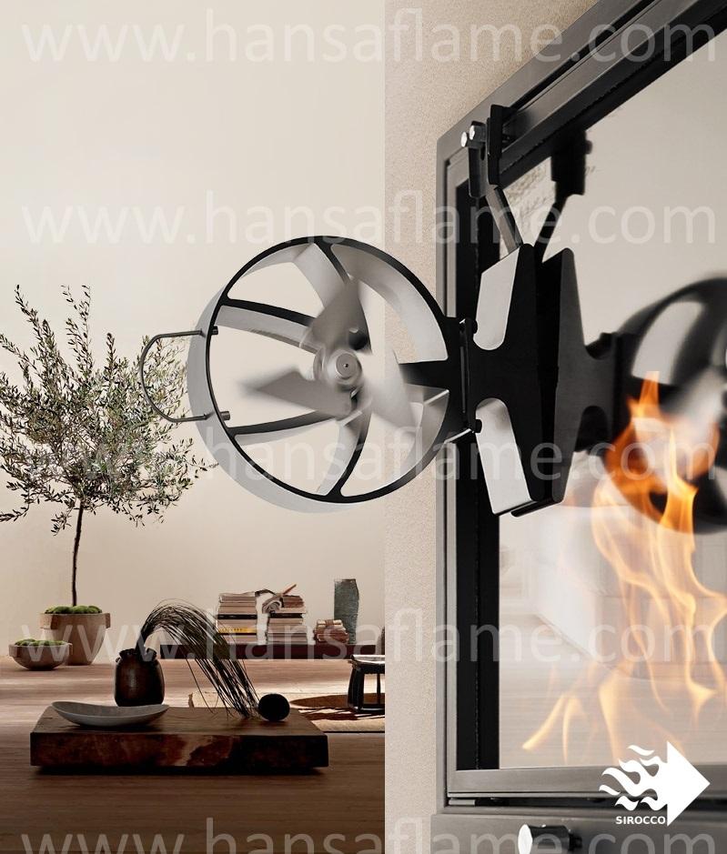 Fireplace Design fireplace fan : Sirocco Plus,Fireplace Fan (thermoelectric) - Buy Heat-powered ...