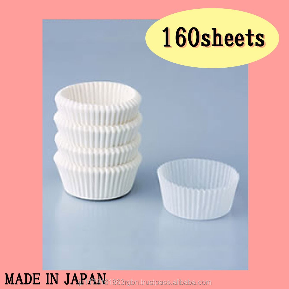 High quality and Stain-resistant silicone cups for cupcake with multiple functions made in Japan