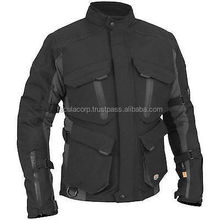 Classic Mens Motorbike Cordura Armour Biker Waterproof Motorcycle Jacket FC-10710