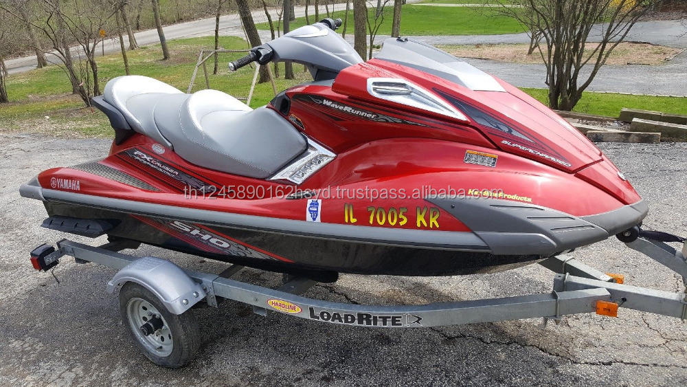 2009 Yamaha FX Cruiser SHO Waverunner Jetski ONLY 74.5 hrs w/ Trailer NO RESERVE