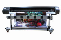 "VINYL EXPRESS V 1800MM 70"" LARGE WIDE FORMAT PRINTER DX5 ECO SOLVENT+RIP,1440DPI"
