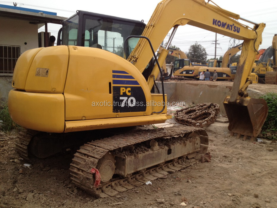 Cheap price Used Komatsu Excavator PC70-8,Original from Japan