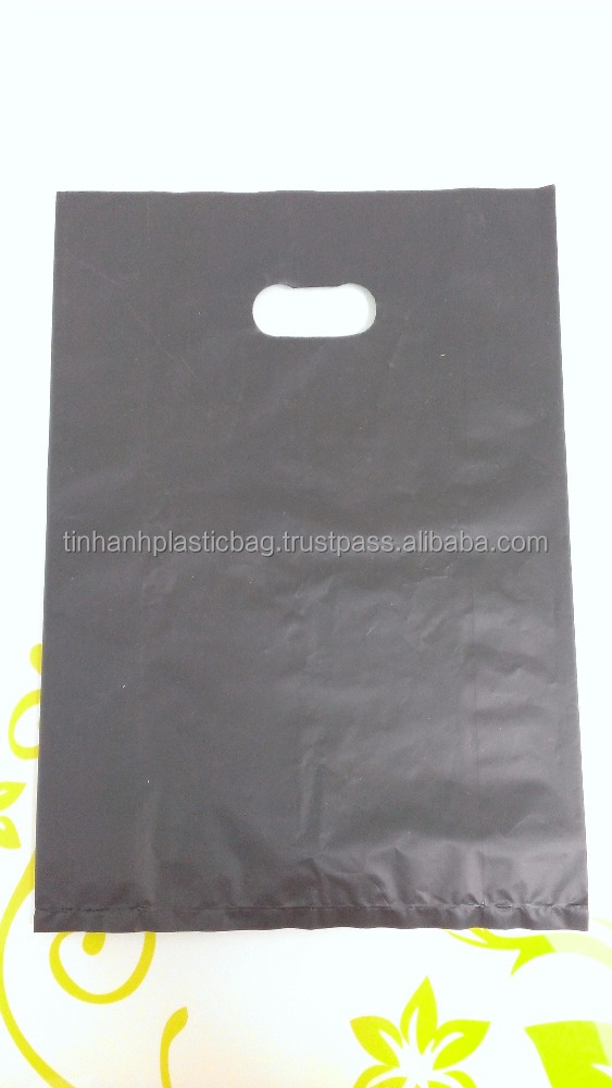 die cut bag film color printed HDPE plastic bag manufacturer Vietnam
