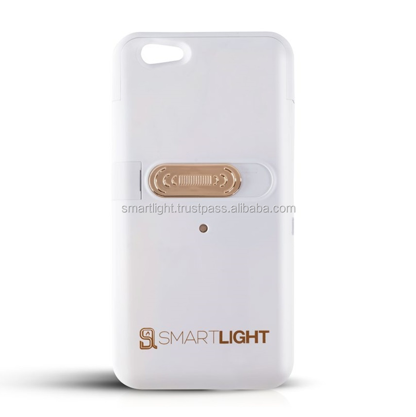 White case for iPhone 6 6S with ecological cigarette lighter