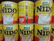 Transperent Cap Nido Milk from Holland
