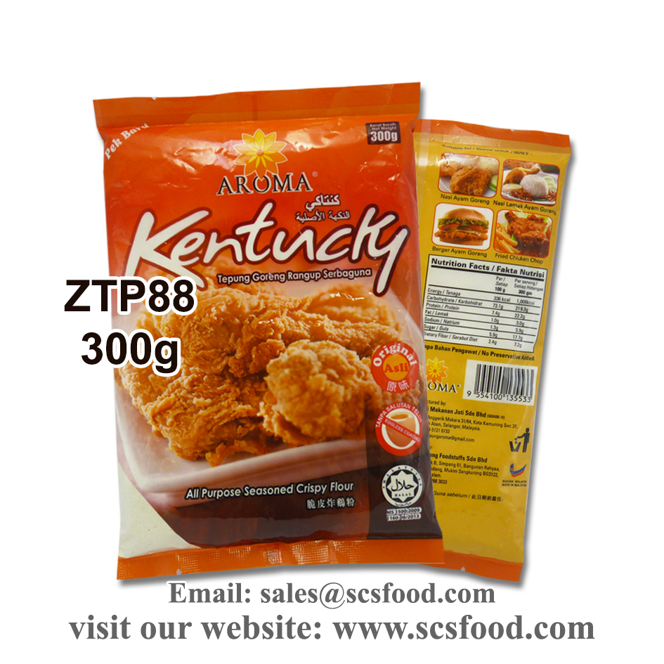 All Purpose Seasoned Kentucky Flour / Original / Spicy 300g