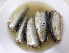 Canned Sardines in Brine 155g