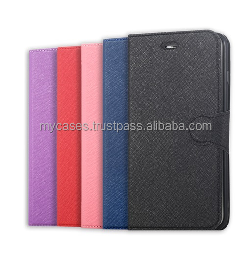 MyCase Texture Wallet Case for Galaxy S5