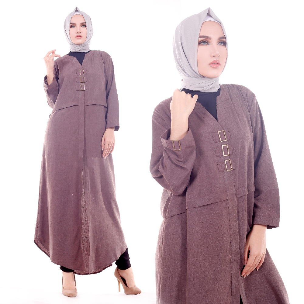 HIGH QUALITY simple and elegant Tunik moeslem dress islamic clothing