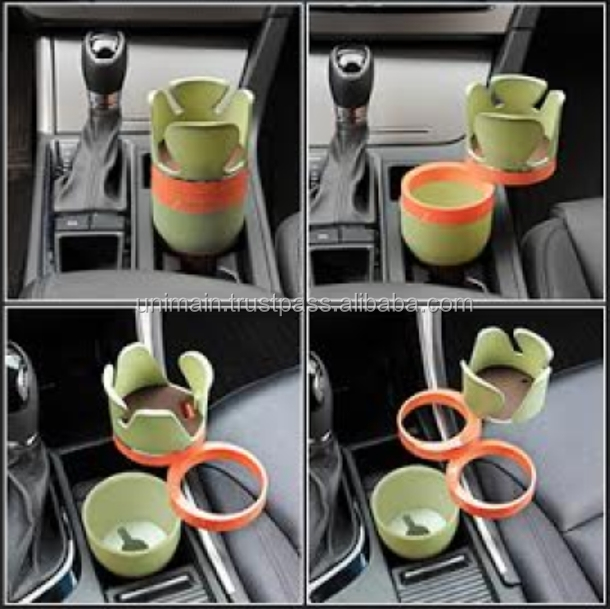 Auto Vehicle Car Cup Holder Coffee Bottle Car Seat Cup Holder for Car Multi Cup Case Table Glasses Holder Coin Bin